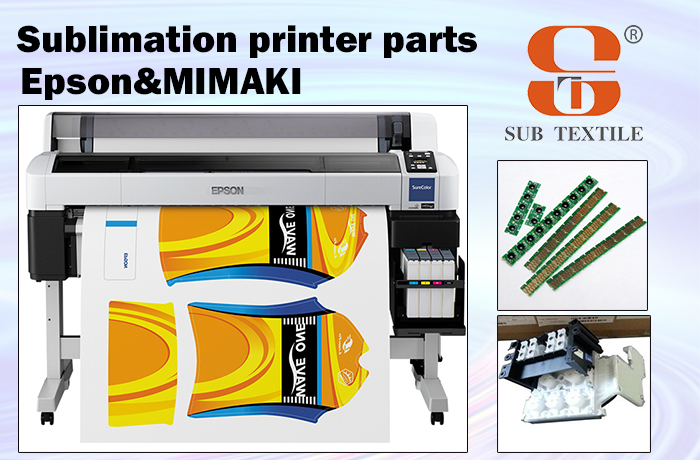 hot epson & mimaki sublimation printer pièces de machine