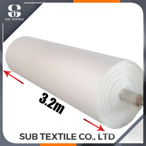 140gsm 3200mm papier de sublimation de colorant pour le coton