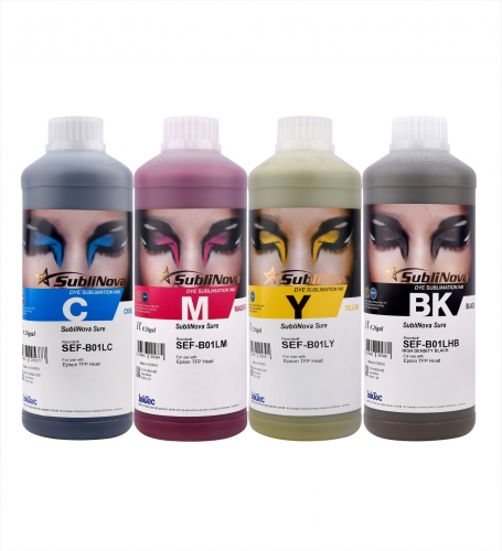 Encre de Sublimation InkTec Smart pour Ro-land, Mimaki, Epson Sublimnation imprimante